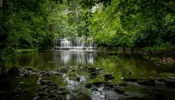 Nidd Falls by Coloured_Images