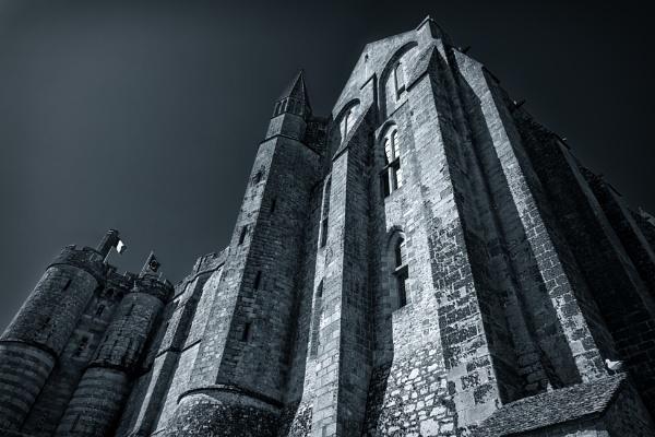 Mont Saint Michel by Xandru