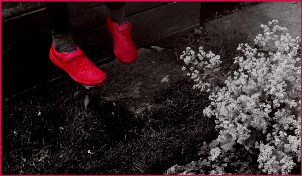Shoes to set my feet a dancing,dancing by helenlinda