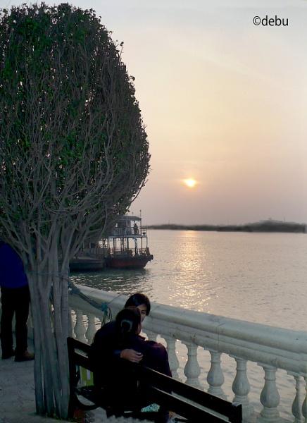 Kolkata # 28 The Hooghly river in Kolkata by debu
