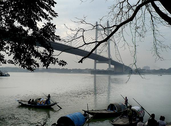 Kolkata # 30 Hoogly river(Kolkata) by debu