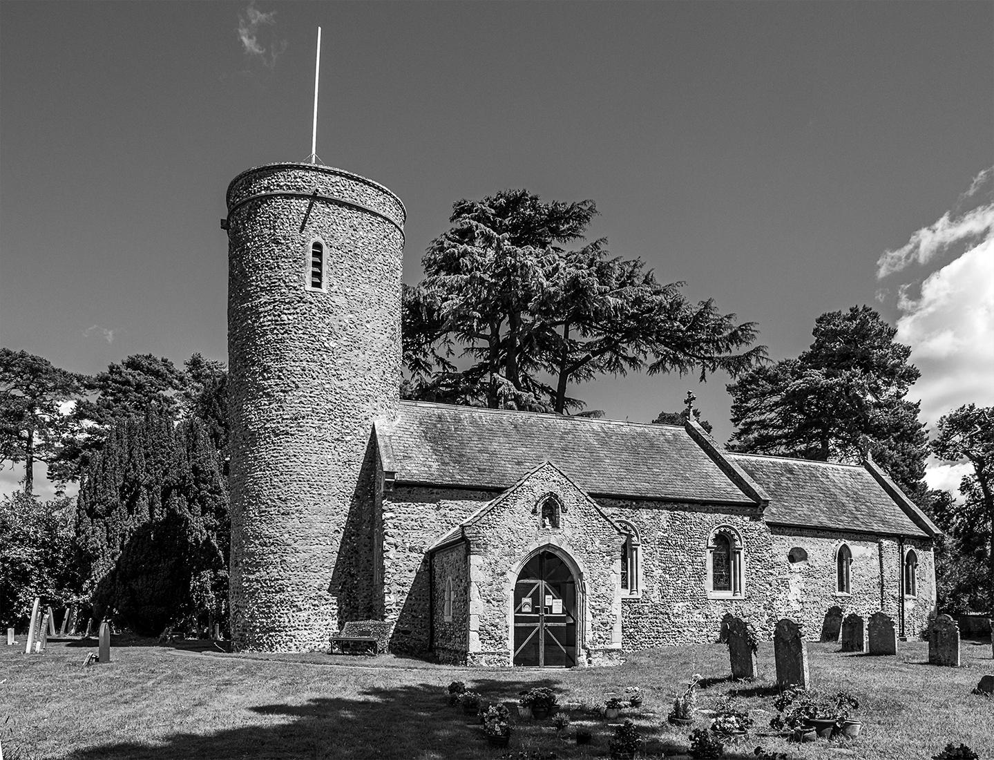 St Andrews church Framingham Earl