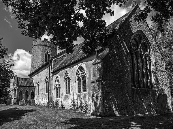 Church of John the Baptist, Hellington by pdunstan_Greymoon