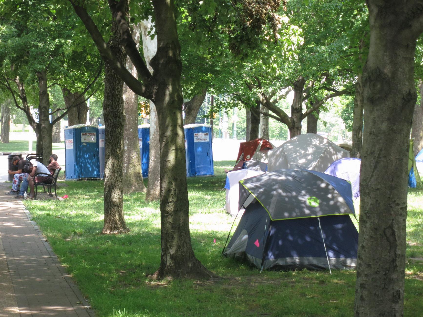 Philadelphia Homeless Encampment #3