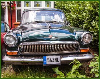 estonian plated GAZ...