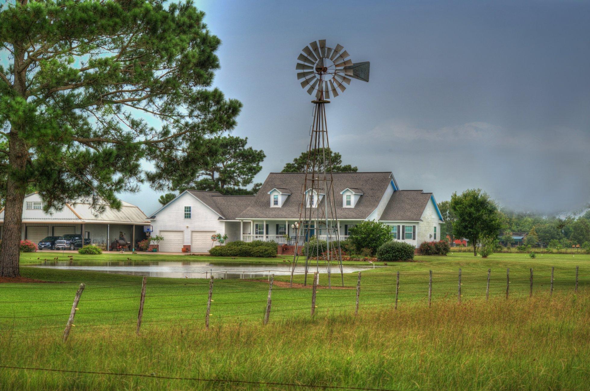 Southeast Texas farmhouse
