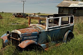 Wreck on the prairies (Hesperus nowhere to be found)