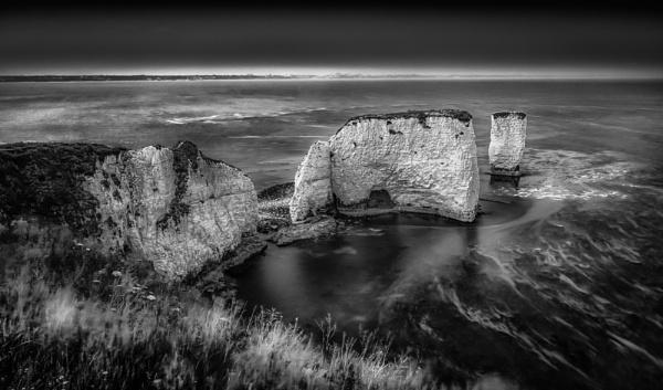Old Harry Rocks by Legend147