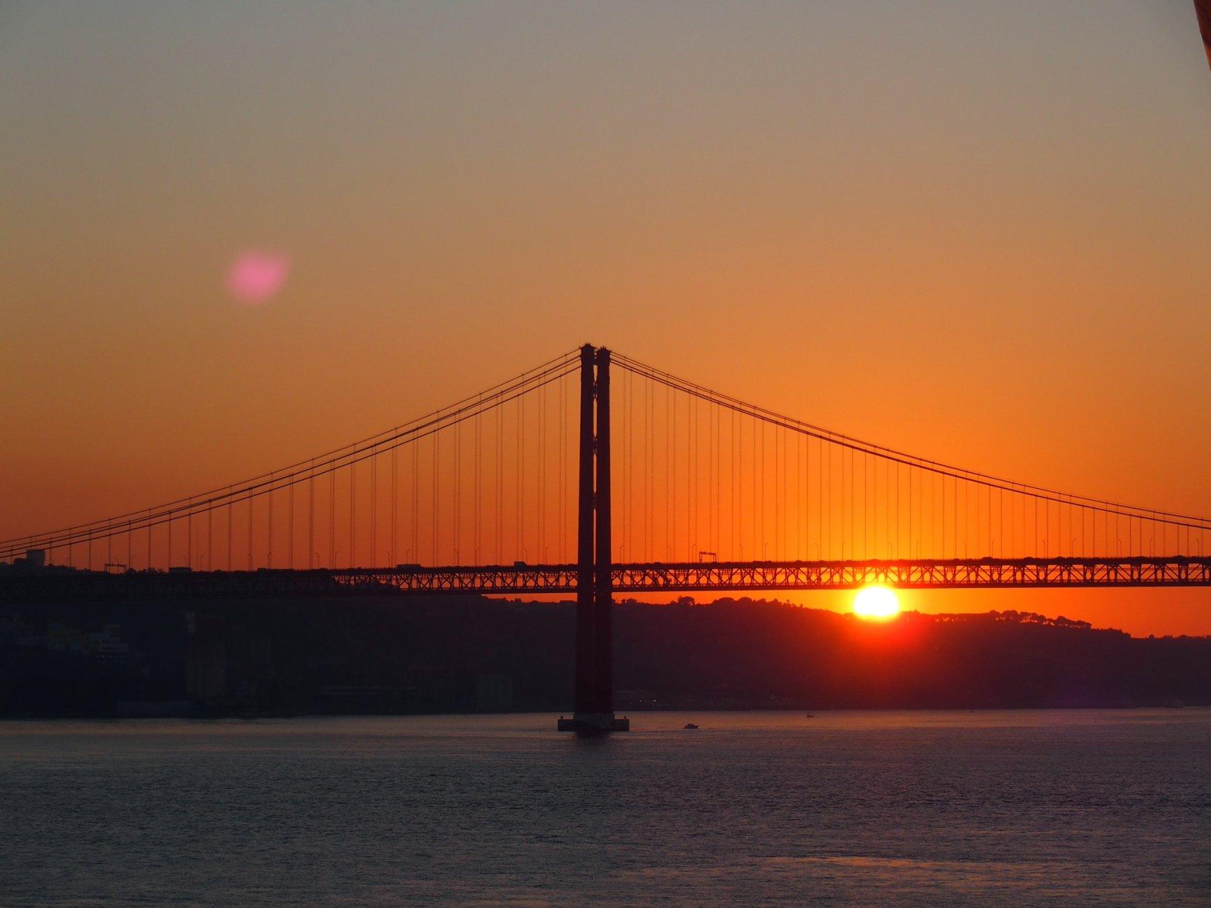 Lisbon, 25th April bridge.