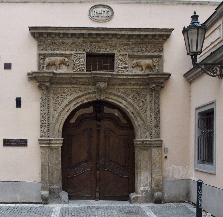 Very impressive entrance in Prague
