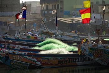 Dock Scene Senegal