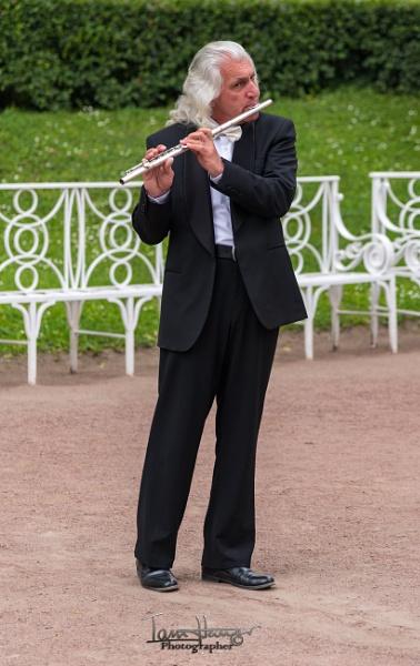 Catherine Palace Flautist by IainHamer