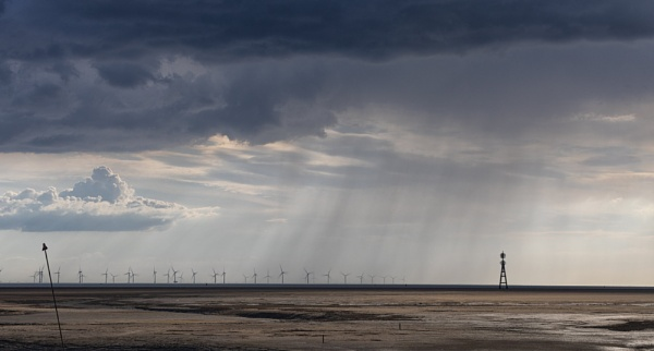 A Passing Shower over the Mersey by Pictureperson