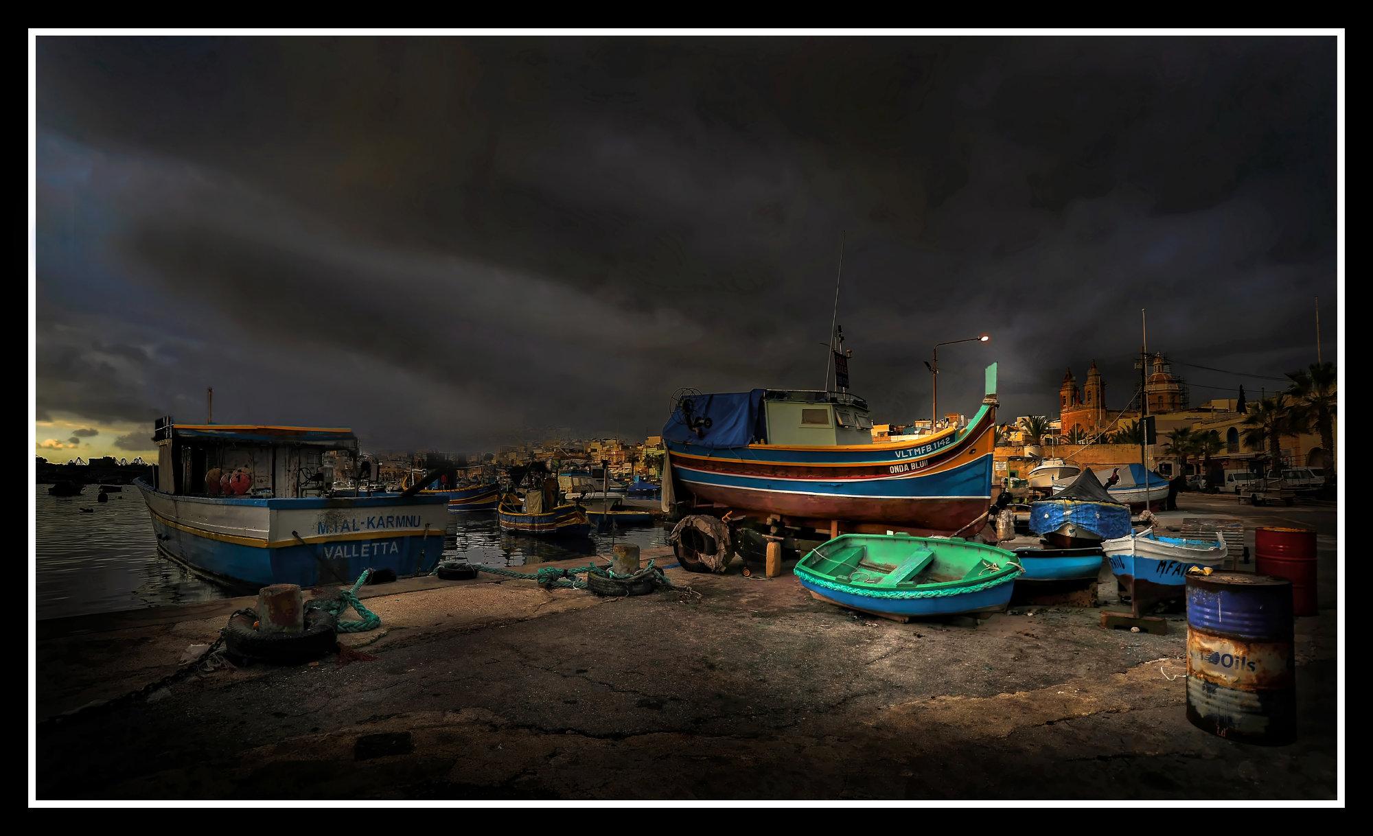 Marsaxlokk ----- ''Marina''