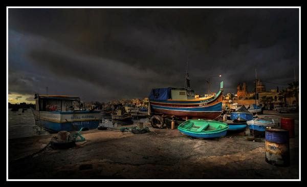 Marsaxlokk ----- \'\'Marina\'\' by Edcat55