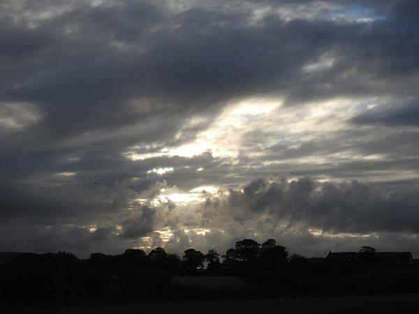 Evening sky by Alan26