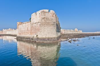 The Outer Fortress Walls of the Portuguese City of Mazagan (ElJadida)