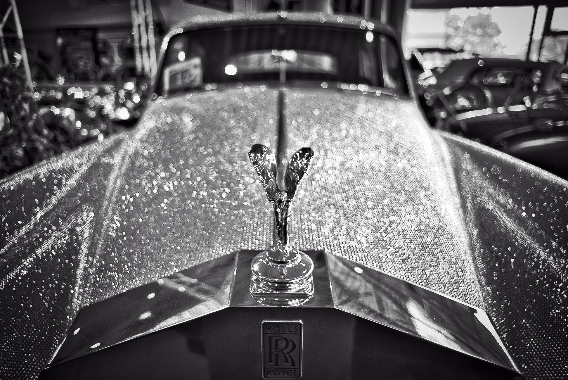 Emily and the Swarowski Rolls Royce