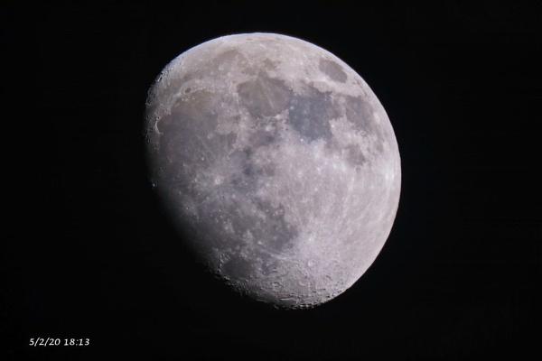 Moon 5/2/20 by DaveThornton