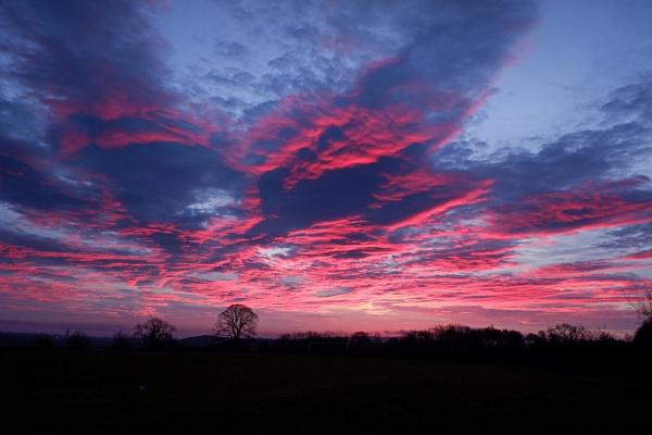 Armageddon Sunrise by DaveThornton
