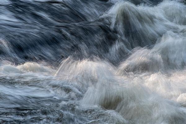 Water in motion by JohnDyer