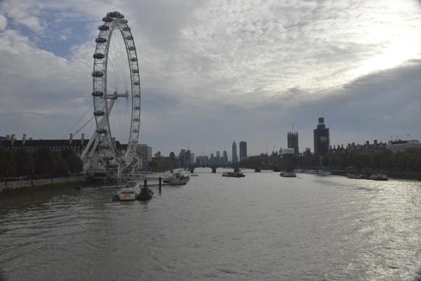 London Eye by peterthowe