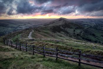 July Sunrise on the Great Ridge