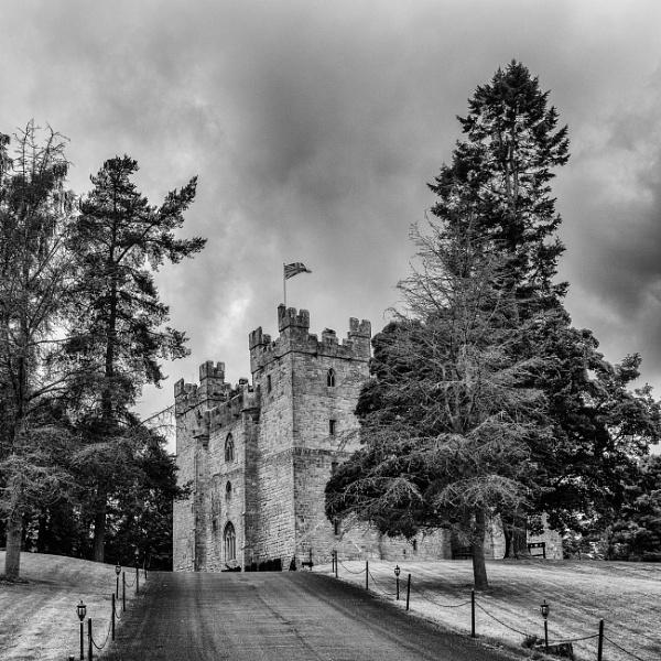 Langley Castle by mbradley