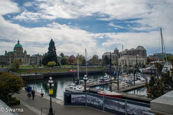 Victoria Inner Harbour... by Swarnadip