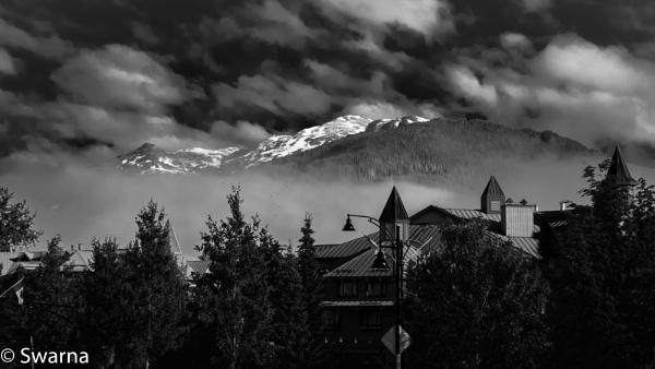 Somewhere in Whistler II ... by Swarnadip