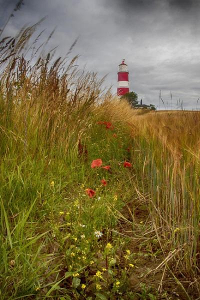 Happisburgh Lighthouse Norfolk by HelenaJ