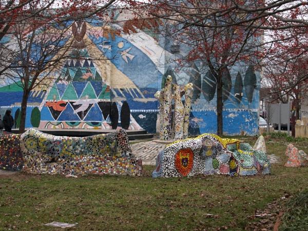 Philadelphia: The Village of Arts and Humanities by handlerstudio