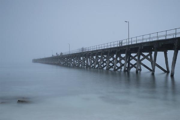 Foggy morning at Port Hughes, South Australia by jennialexander