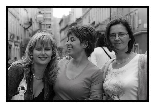 Three  kind  of  smile by nklakor