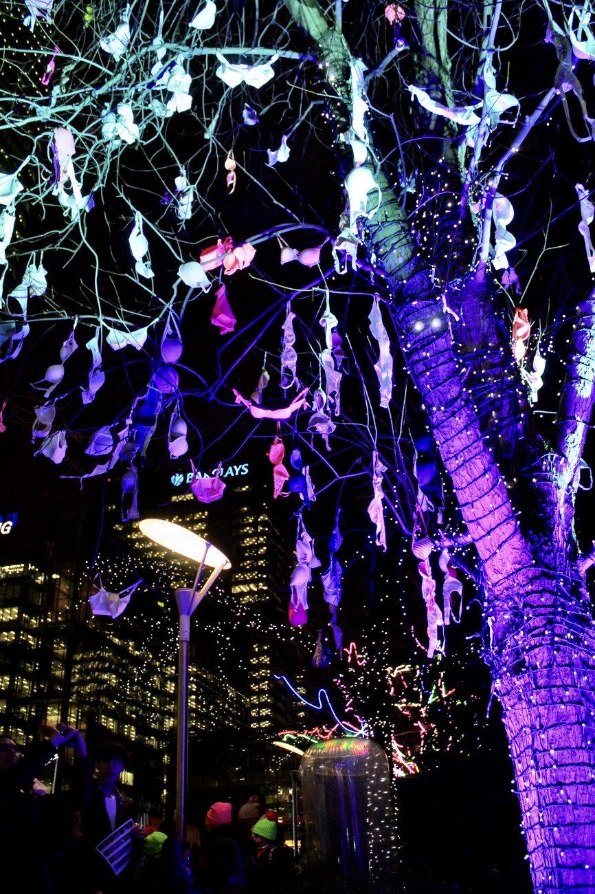 Tree of bras