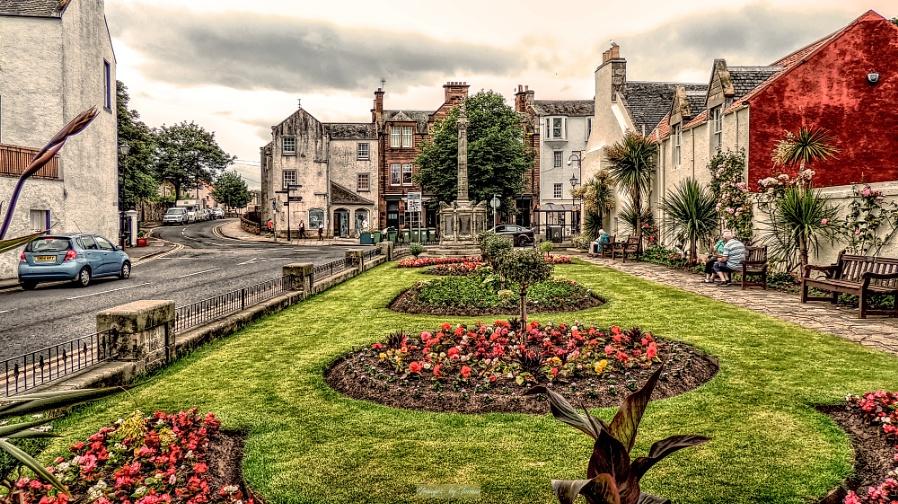 Colourful Corner in North Berwick.