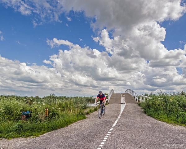 Lonely biker by joop_