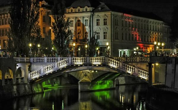 Triple Bridge by Xandru
