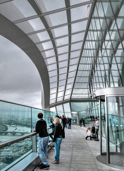 The Sky Gardens Terrace London by StevenBest