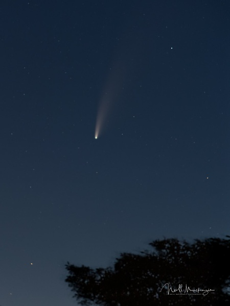 comet neowise by jimmymack