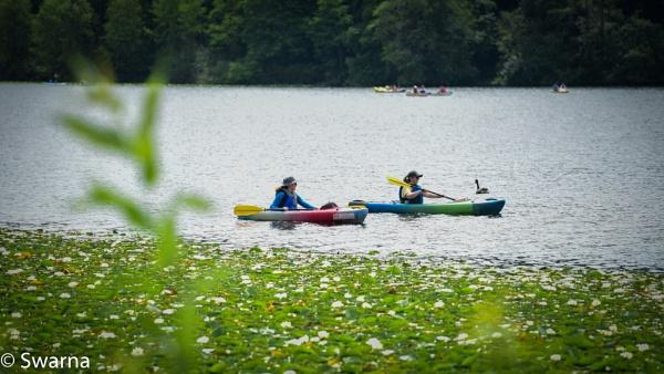 Kayaking time... by Swarnadip