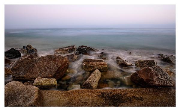 Misty sea by happysnapper