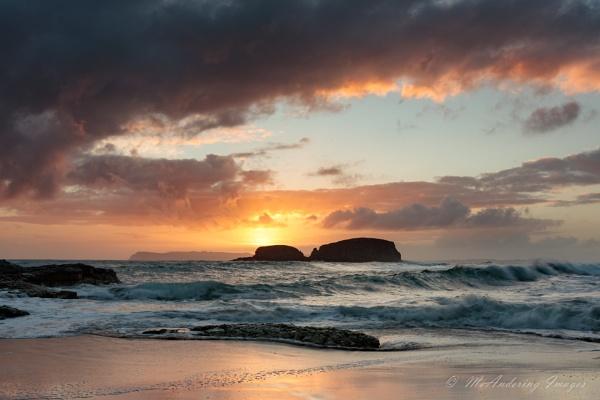 Sunrise over Sheep Island by PMWilliams
