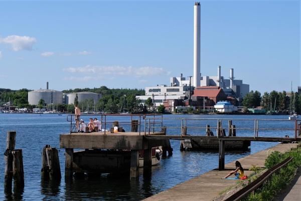 Harbour Flensburg June 2020 by EveLine1