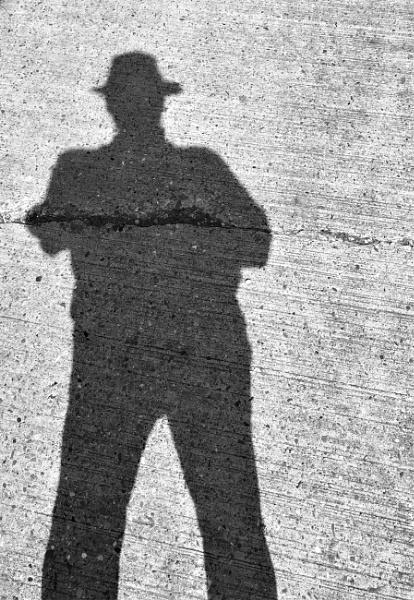 My shadow is my shade by joop_
