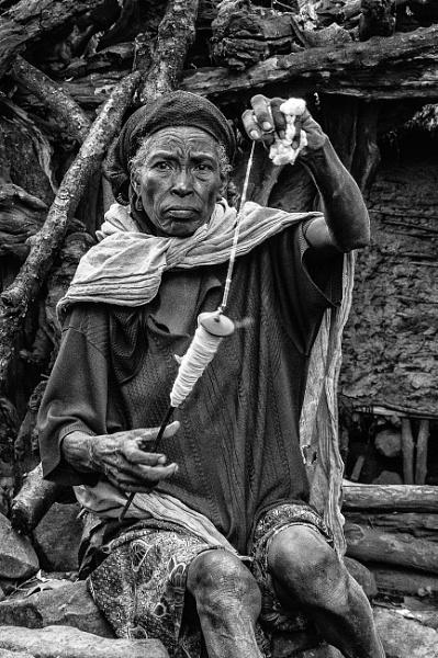 Village Elder - S. Ethiopia by barryyoungnz