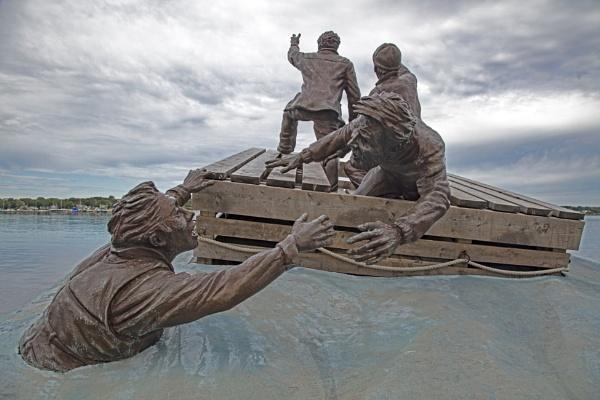 Merchant Seamen WW2 - Sydney Nova Scotia Memorial by VincentChristopher