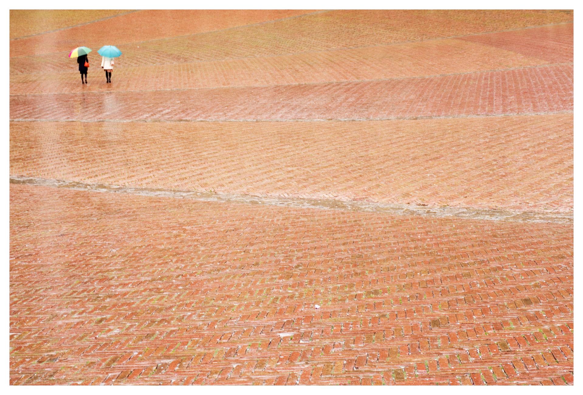 pioggia continua