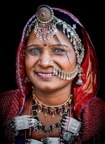 Rajasthani woman2 by sawsengee
