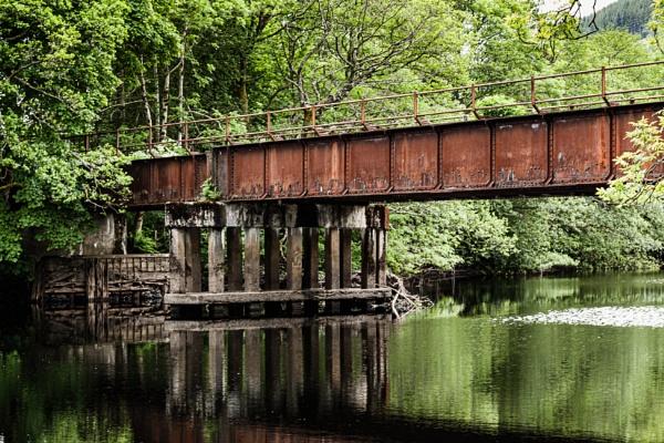 The Old Railway Bridge by ejways